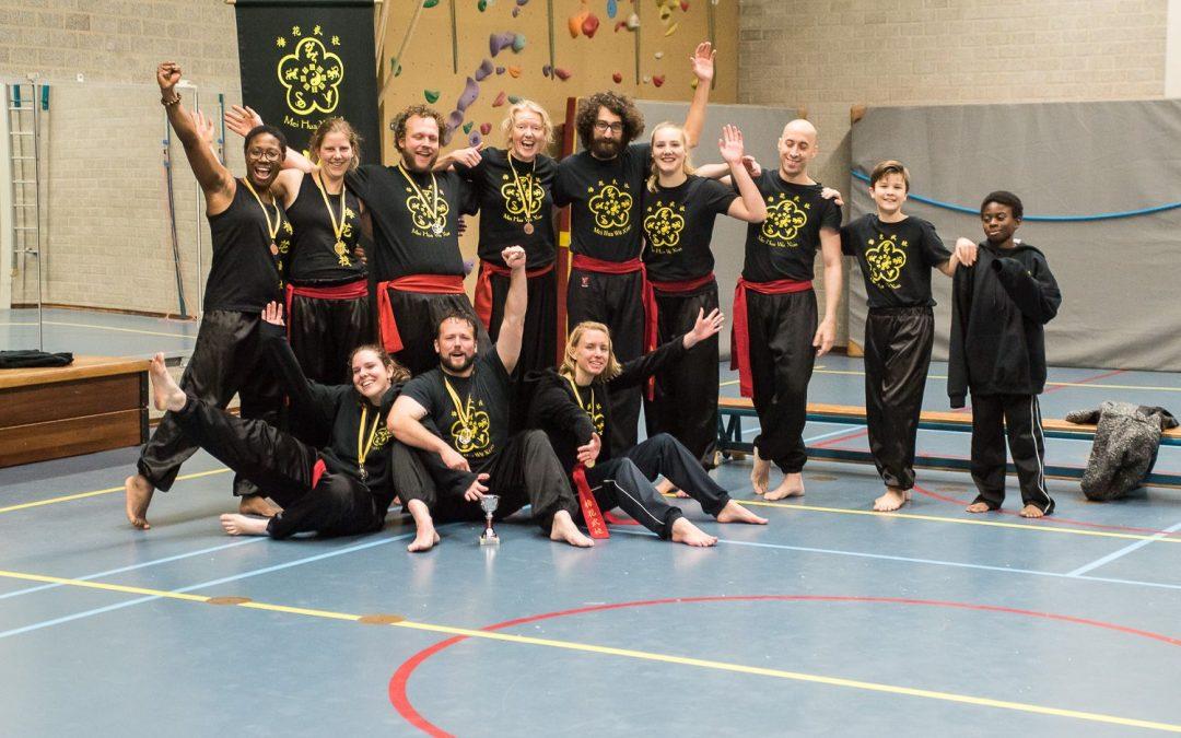 Debuut op kung fu stijlwedstrijd 2017!