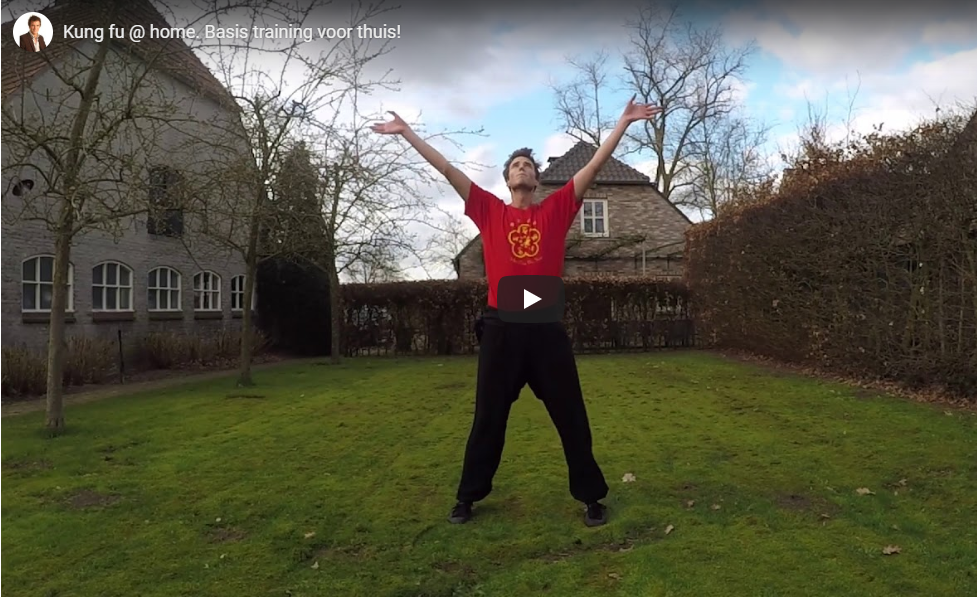 Kung fu @ home tijdens Corona crisis